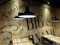 La Déco de Big Fernand, resto à Burgers à Paris