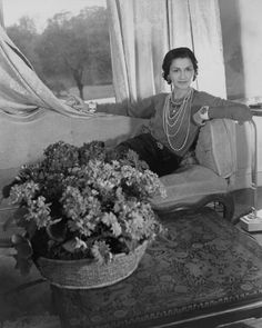 "The most inspiring Coco Chanel quotes to live by ""You live but once; might as well be amusing.""     ""The most courageous act is to think for yourself. Aloud.""     ""If you were not born with wings, do nothing to impede their growth."""