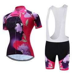 TELEYI Phoebe 2017 Summer Women MTB Bike Cycling Clothing Breathable Bicycle Clothes Ropa Ciclismo Girls UV Cycling Jersey