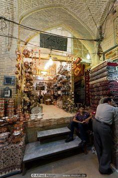 Tehran's Grand Market Bazaar, Iran