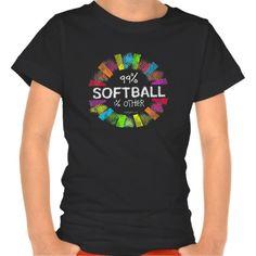 Golly Girls: 99 Percent Softball 1 Percent Other T Shirt