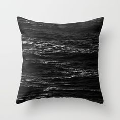 Ocean Death Throw Pillow