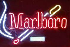 Marlboro Neon Sign Real Neon Light
