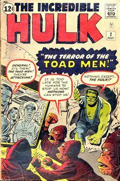 Incredible Hulk marvel comic book cover art by Jack Kirby & Steve Ditko Rare Comic Books, Comic Books For Sale, Comic Book Artists, Comic Books Art, Comic Art, Hulk Avengers, Hulk Marvel, Old Comics, Vintage Comics