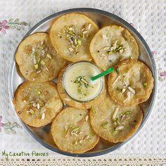 Mini Sweet Malpuas (Indian sweet)