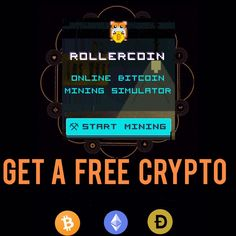 Rollercoin - Play simple games and earn cryptocurrency! It's simple, the more you play, the more Bitcoin and Ethereum earn! RollerCoin - online Bitcoin mining simulator game - earn money by playing simple games! #FreeBitcoin #FreeEthereum #EarnBitcoin #EarnEthereum #FreeCryptocurrency #EarnCryptocurrency New Things To Learn, Cool Things To Buy, Stuff To Buy, Diy Crafts For Girls, Surreal Photos, Salad With Sweet Potato, Cool Gadgets To Buy, Easy Food To Make, Bitcoin Mining