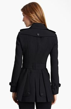 Burberry London Jersey Trench Coat @Nordstrom