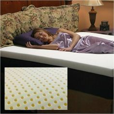 Comfort Dreams O-2R461 Comfort Dreams Ventilated Memory Foam 2-inch Mattress Topper by Comfort Dreams. $130.94. Design is stylish and innovative. Satisfaction Ensured.. Manufactured to the Highest Quality Available.. Great Gift Idea.. Materials: Memory Foam. * Ventilated memory foam 2-inch mattress topper has hundreds of holes punched in the foam. * Bedding creates a highly compliant sleep surface. * Mattress topper gives you the ultimate combination of support and c...
