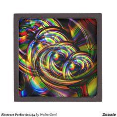 Abstract Perfection 34 Premium Jewelry Box