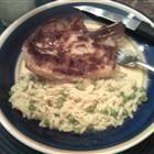 Parmesan Garlic Orzo - 7/7/13 FAIL - too much garlic overall, half the garlic and it would be a good dish.