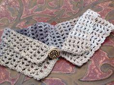 """Petit col collection """"fraîcheur"""" crocheté en coton : Echarpe, foulard, cravate par la-maille-aux-tresors"""