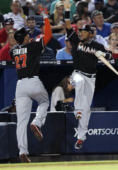 MLB: Miami Marlins 8 (20-17, 11-10 away) Braves 4 (23-15, 9-7 home) FINAL  Top Performer- G. Stanton, MIA: 1-3, HR, 2 RBI, 2 R, 2 BB  keepinitrealsports.tumblr.com  keepinitrealsports.wordpress.com