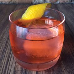 Hwayo Negroni: This riff on the Negroni is made with jasmine-infused soju, Korea's white spirit usually distilled from rice or sweet potatoes.