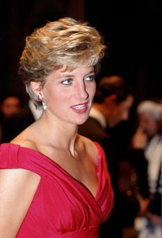 Princess Diana attends a performance by the Welsh National Opera during a visit to Japan, November 14, 1990.