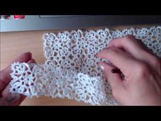 Quadrato Farfalla.Motivo per realizzare pizzo al'uncinetto. - YouTube Crochet Edging Patterns, Crochet Diagram, Crochet Motif, Crochet Doilies, Crochet Flowers, Knit Crochet, Crochet Curtains, Needlepoint Designs, Crochet Bracelet
