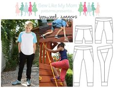 The Boxwood Joggers are the best jogger pattern you'll own! Perfect for your trendy older kid, or your wee one looking for a comfortable pant, they'll find it here. Suited for boys and girls alike, this is the quintessential unisex pattern! Available in shorts, capris, or long pant options, there's a length that's perfect for every season! So go on, sew up a wardrobe full of joggers, your kid, and their legs, will thank you! This PDF pattern features 37 pages of color photos and detailed…