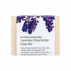 Lavender Shea Butter Soap Bar - or similar from any supplier. Patchouli Soap, Shea Butter Soap, Bar Soap, The Balm, Lavender, Hand Making, British Columbia, Essential Oils, Relax