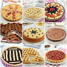 Tarts for all tastes! 40 easy and delicious recipes Italian Cake, Italian Desserts, Mini Desserts, Sweet Recipes, Cake Recipes, Dessert Recipes, Biscotti, Happiness Recipe, Pan Sin Gluten