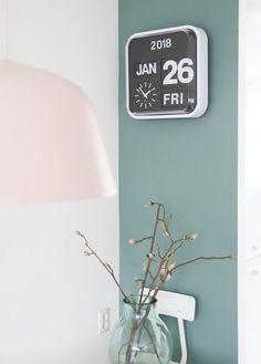 missjettle - groene muurkleur