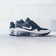 """Sneaker Politics on Instagram: """"Nike Womens Air Max 1 Ultra Moire - Black/3M $130 sizes 5-10 Available now at our Lafayette location. Call 337.806.9615 to order or with any questions. #nikewmns #airmaxmoire #moire #sneakerpolitics"""""""