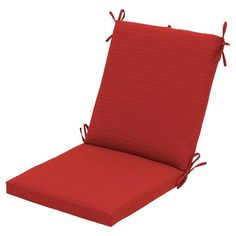 Outdoor Chair Cushion Solid Color - Threshold™