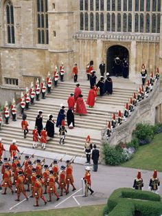 The Garter Ceremony, St George's Chapel, Windsor Castle, UK