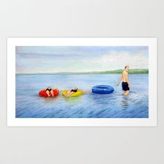 Summer at the Cape Art Print by Precision Studio by Theresa Somerset - $20.00