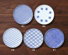 small plates 東屋 印判小皿