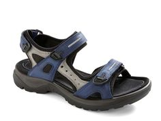 Best shoes (ECCO) for the feet ever!  Love the blue to go with my jeans!