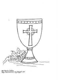 3 Precious Blood of Christ Coloring Pages