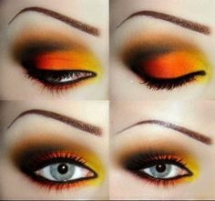 orange/yellow/brown