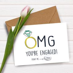 Taking Time out of My Busy Day to Congratulate Mr Awesome and Mrs Folded Greeting Card with Envelope Blank Inside Funny Wedding Shower Card Cat Wedding Card Wedding Congrats Card