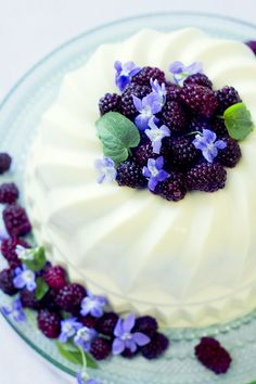 Elderflower and Lime Base, BlackBerry and Violet Mousse, and Dark Chocolate Gamache with Pistachios in a White Chocolate Shell   BakeMyDay (breaking my own rule here, as the recipe link is no longer valid, but the pics and description are worth it.)