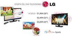 "#OFERTA DL DIA! DESDE $1,999  #TELEVISIONES #LG #TV #LED 20"" 22"" 24""  #DESCUENTO #ELECTRONICOS #ALCOSTO  https://niish.mx/lgsale/"