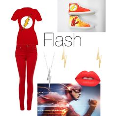 Flash by veroflores-vf on Polyvore featuring polyvore fashion style Paige Denim Converse Edge Only Lime Crime
