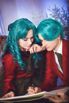 Michiru Kaioh – 20 photos   VK Sailor Neptune, Sailor Uranus, Trinity Blood, Best Cosplay, Awesome Cosplay, Couples Cosplay, Sailor Moon Cosplay, Naruto And Hinata, Joker And Harley Quinn