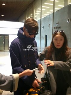 Lee Min Ho at Incheon International Airport and Charles de Gaulle International Airport - 10.03.2015