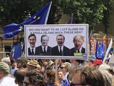 Brexit protest today