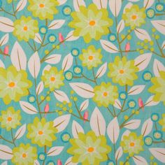 Clothworks Floral Folio 100% Cotton Fabric By The Yard