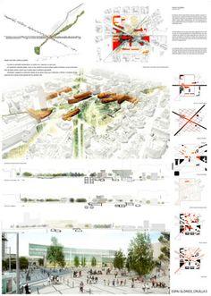 Cruilla 0 - Finalist project Plaza las Glorias Competition