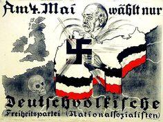 Wahlplakat der DVFP, 1924