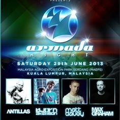 Kuala Lumpur welcomes Armada Night Armada Music, Kuala Lumpur, Welcome, Fresh, Night, News, Movie Posters, Film Poster, Billboard
