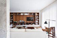 Mid Century Renovation Sao Paulo Apartment | Felipe Hess | Featured on Sharedesign.com