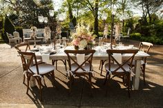 Outdoor Southern Soiree   Event inspiration and details from Riverwood Mansion   Nashville Events  Photo by Gregory Byerline
