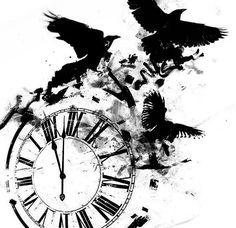 Эскиз тату часы: 21 тыс изображений найдено в Яндекс.Картинках
