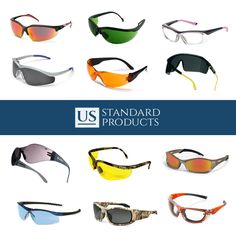 a4eeca58b1e Safety glasses and safety goggles in every style and color!