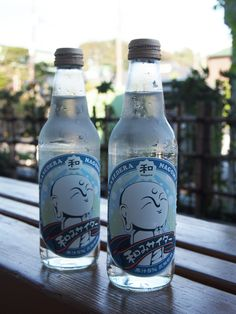 Japanese Jizo Design Lemon Soda Pop available only at Hase-dera Buddhist Temple (Kamakura-City, Kanagawa)|長谷寺限定 和みサイダー