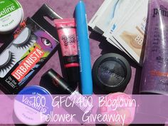 NEW POST! 700 GFC/400 Bloglovin Follower Giveaway #bbloggers #bbloggerspost #beautychat #beautybloggers #beauty #makeup #cosmetics #urbanista #miners #rimmel #katemsos #vaseline #treaclemoon #mememe #samples #giveaway #raspberrykiss #comp #competition #prizes