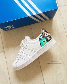 finest selection 5ac61 8e119 AbstractArt Adidas Superstar by Kylie Boon   jkl customs