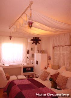 Dosel iluminado con la luz de techo